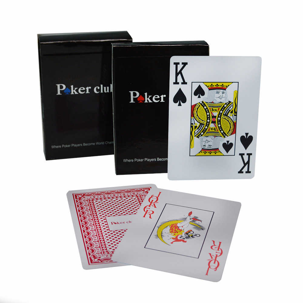 100 Plastic Pvc Playing Card Game Poker Cards Waterproof And Dull Polish Poker Club Casino Board Games Accessories Aliexpress