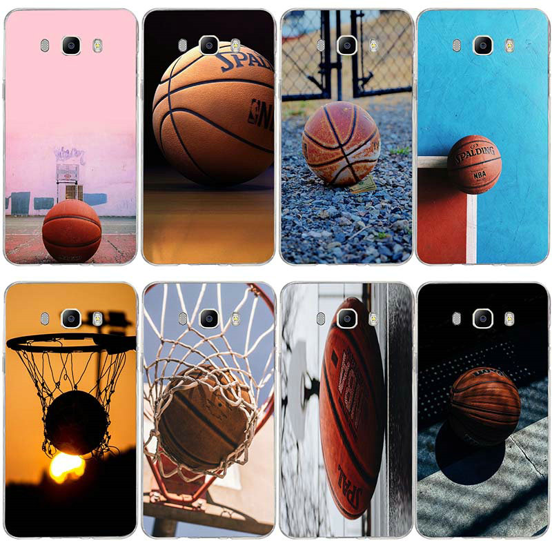 Basket Basketball Soft TPU Case For Samsung Galaxy A3 A5 J1 J2 J3 ...