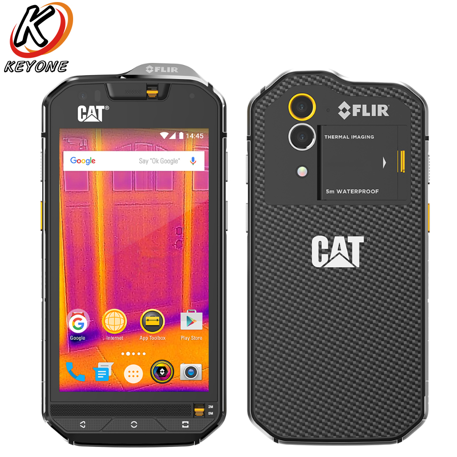 "Brand new CAT S60 Mobile Phone 4.7"" 3GB RAM 32GB ROM Octa Core IP68 Wateproof Dustproof 3800mAh 13MP Android Dual SIM SmartPhone"