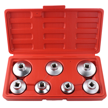 5pcs Green Oil Filter Wrench Set For Benz/BMW/FORD