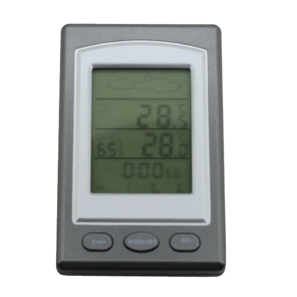 Профессиональный беспроводной Измеритель температуры и влажности цифровой гигрометр индикатор погоды