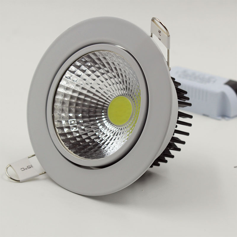 20w Led Dimmable: Dimmable LED Downlight 3W 5W 7W 10W 12W 15W 20W 24W 85
