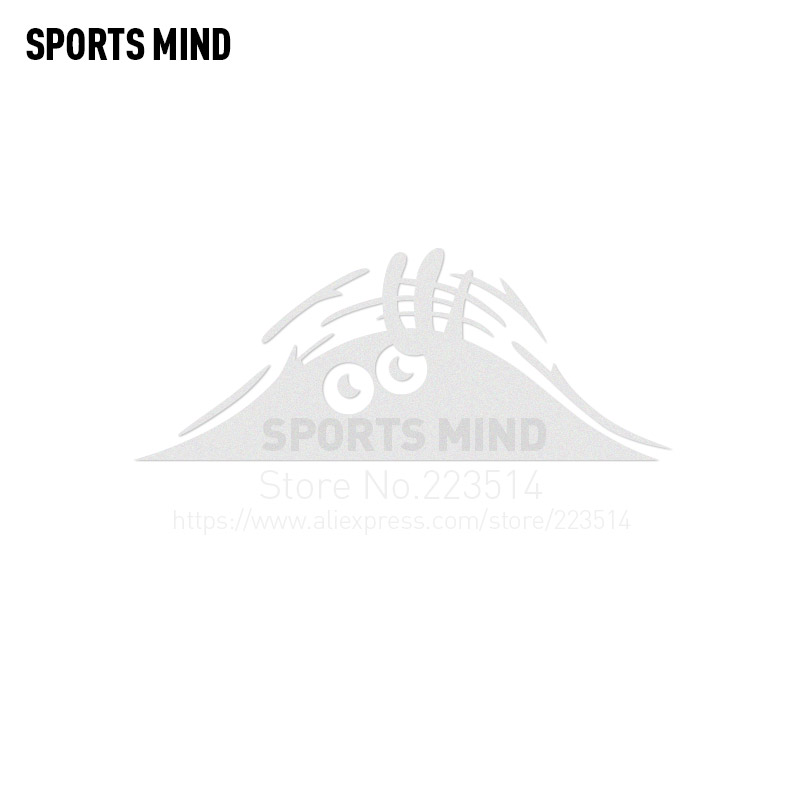3 Pieces SPORTS MIND Funny hidden devil Automobiles Waterproof Car-Styling Reflective vinyl Car Sticker Decal For All Car