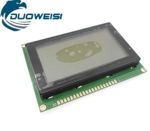 Image 2 - 12864A LCD yellow green /blue /gray /black VA screen parallel port serial port
