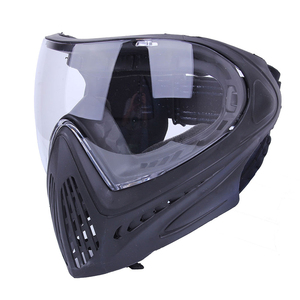 Image 2 - FMA F1 חיצוני פיינטבול מסכת Airsoft בטיחות מגן נגד ערפל Goggle מלא מסיכת פנים עם שחור/רעיוני/צהוב/נקי עדשה