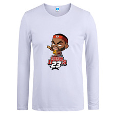 2016 spring and autumn men's long sleeve shirt blouse t shirt long sleeve shirt daily spring pure cotton loose T-shirt tide anim