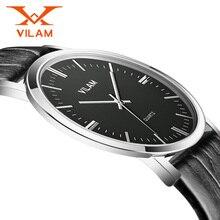 VILAM 2016 Montre-Bracelet Hommes Montres Top Marque De Luxe Célèbre Mâle Horloge Quartz Montre Hodinky Relog Quartz-montre Relogio Masculino