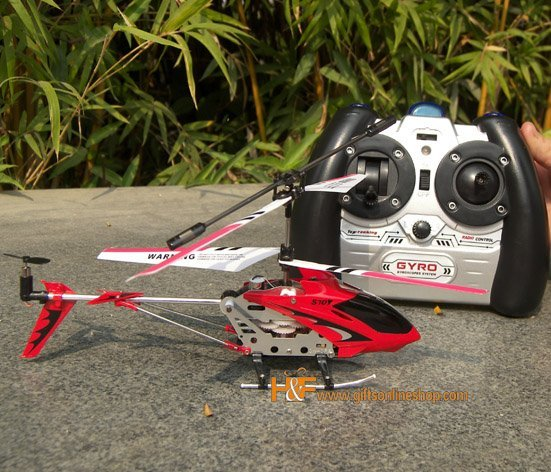 SYMA Metal Series S107 8.7in 3CH Radio Control Helicopter Gyro RC Helicopter