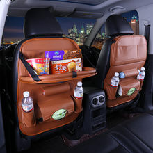 Car Seat Back Storage Bag Folding Hanging dining table bags for honda crosstour insight odyssey spirior vezel Jazz City crider(China)
