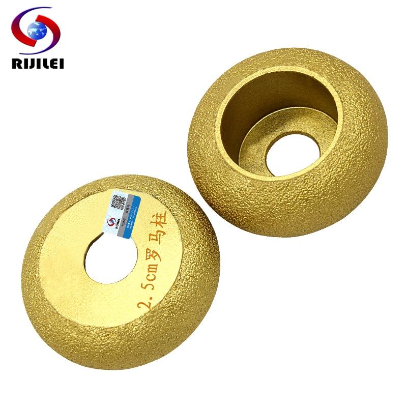 RIJILEI 74mm * 20 * 10-40 مشخصات دست الماس برزیل چرخ چرخ زاویه چرخ چرخ سنگ سن رم ستون سنگ مرمر MX47