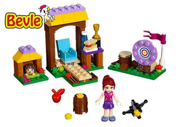 Bela 10536 Friends Adventure Camp Archery Mia Building Blocks Bricks Toy Compatible With Legoings Friends 41120 худи print bar mars adventure camp