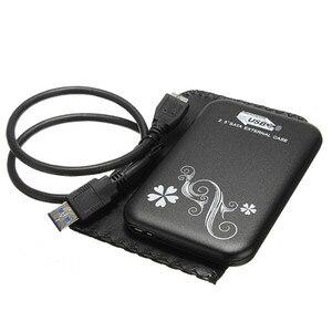 Image 5 - 金属ケースポータブル外部ハードドライブ 2.5 HDD 1 テラバイト Usb 3.0 ノート Pc 携帯ハードドライブ Windows Mac