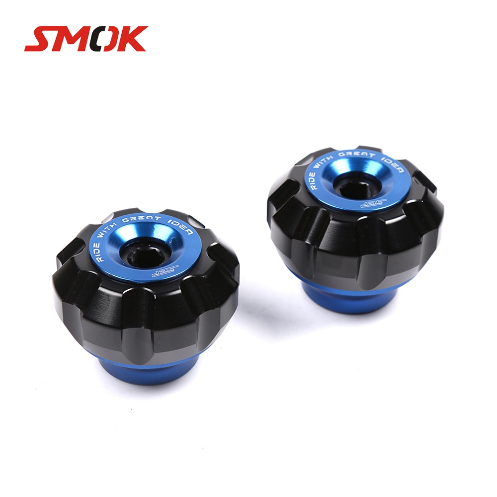 SMOK Motorcycle Front Fork Wheel Crash Sliders Falling Protection For Yamaha Xmax 125 250 300 400 Nmax 155 125 Bws 125 AeroxSMOK Motorcycle Front Fork Wheel Crash Sliders Falling Protection For Yamaha Xmax 125 250 300 400 Nmax 155 125 Bws 125 Aerox