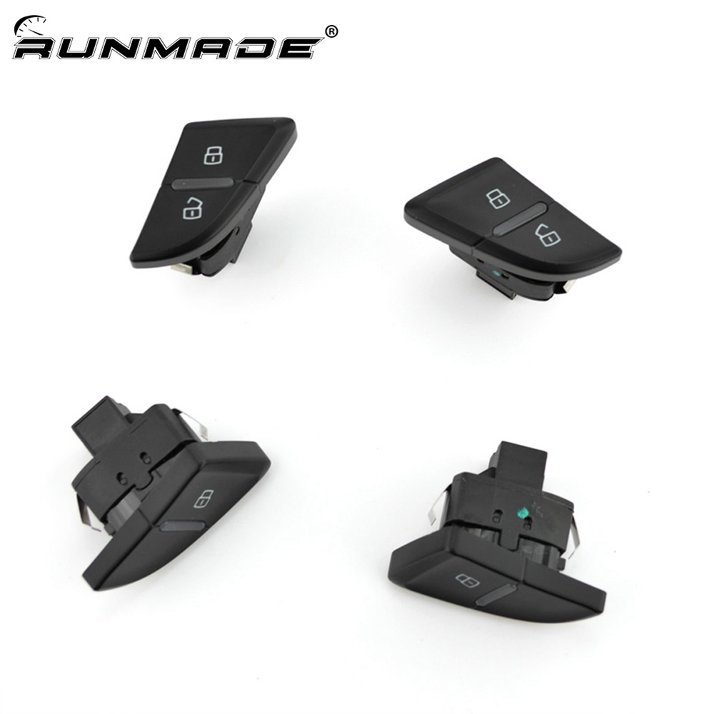 runmade For <font><b>Audi</b></font> <font><b>A4</b></font> S4 B8 <font><b>A4</b></font> Allroad Quattro A5/S5 RS4 Front Rear Left Right Door Lock Unlock Switch image