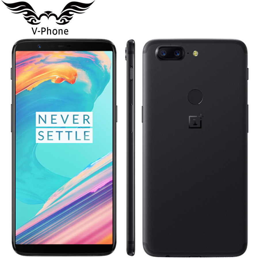 "Brand New 6.01"" Oneplus 5T 8GB 128GB 4G Mobile Phone Android Snapdragon 835 Octa Core 16MP 20MP Dual Back Cameras NFC Smartphone"