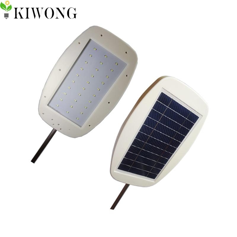 Nice 550lm Waterproof 30LED 5W Solar Panel Garden Lamp Lawn Light Solar Sensor  Oval Outdoor Wall Street Light Garden Lam