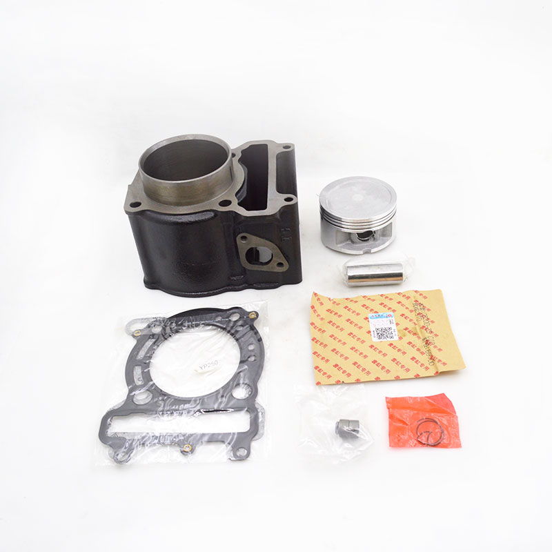 High Quality Motorcycle Cylinder Kit For Yamaha Majesty YP250 YP 250 250cc Engine Spare Parts motorcycle cylinder kit 250cc engine for yamaha majesty yp250 yp 250 170mm vog 257 260 eco power aeolus gsmoon xy260t atv page 2