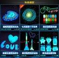 20g Graffiti Party DIY Glow in the Dark Acrylic Luminous Paint Bright Pigment