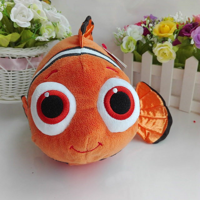 311be363543 Wholesale 20PCs 23CM Nemo fish Finding Dory Finding Nemo TY beanie buddies  Plush Toys Stuffed animals NANO DOLL Toy