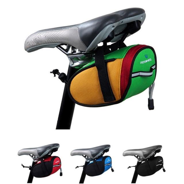 e570adc3113 Bolsos de la bicicleta Trasero Silla Ciclismo Bolsa A Prueba de agua de  Cola Posterior de