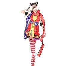 Love live Lovelive Cosplay Minami Kotori Ayase Eli Sonoda Umi Ninja Costume Women's Dress Lovely Animal Costume все цены