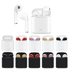 i7s TWS Mini Wireless Bluetooth Earphones Headphones wireless earphone sport bluetooth headphone For  i7 Iphone Xiaomi Andro