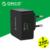 Qc3.0 orico 1 portas usb carregador rápido carregador de parede com 1 m livre cabo micro usb ue/eua/reino unido tipo plug-preto (qtw-1u)