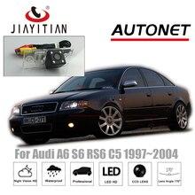 Jiayitian заднего вида Камера для Audi A6 S6 RS6 C5 MK5 1997 ~ 2004 CCD 4 светодиода Ночное видение обратный Камера/Backup Камера