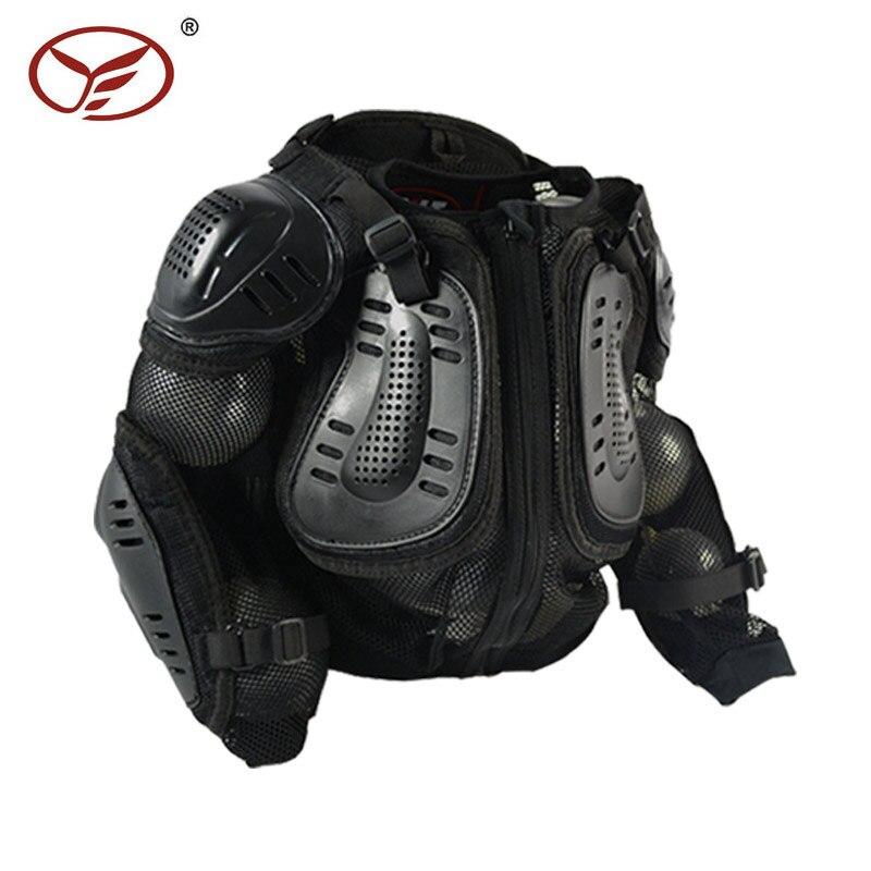 Moto veste protecteur de corps Motocross poitrine dos protecteur armure gilet de course gilet de protection MX armor ATV gardes course