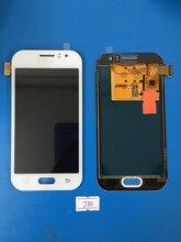 100% тестирование Жк-Дисплей + Сенсорный Экран Дигитайзер ассамблеи без рамка Для Samsung Galaxy J1 Ace J110 J110F J110M J1 2015