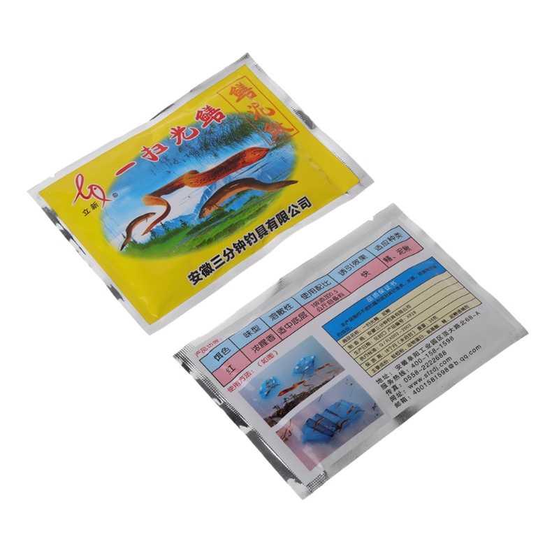 1 שקית 35g דיג פיתיון מלאכותי פיתוי אבקת טעם תוסף צלופח דגי מזין