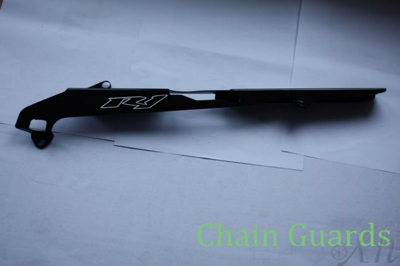 fit for   Black Chain Guards Cover for yamaha YZF R1 2004 2005 2006 2007 2008 купить