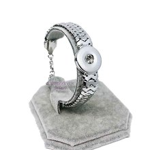 high quality Hot wholesale 022 snake Snap Bracelet&Bangles Charms Metal Bracelets For Women Fit 18mm DIY Snap Button Jewelry