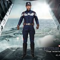 2016 Capitán América 2 Cosplay The Winter Soldier Steve Rogers Cosplay Uniforme