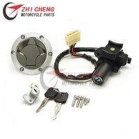 Ignition Switch Fuel Gas Tank Cap Cover Seat Lock Key Set For Kawasaki Ninja 250R EX250 2008 2012 Ninja 300 EX300 2013 2015