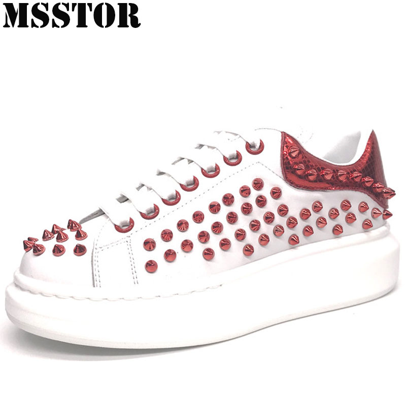 MSSTOR 2018 Women Men Running Shoes Woman Brand Genuine Leather Walking Womens Sport Shoes Outdoor Athletic Ladies Mens Sneakers oln woman brand outdoor athletic winter sport shoes for women comfortably women running shoes outdoor jogging womens sneakers