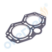 OVERSEE Gasket 346 01005 0 For Fitting NISSAN TOHATSU MERCURY 25HP Outboard Engine
