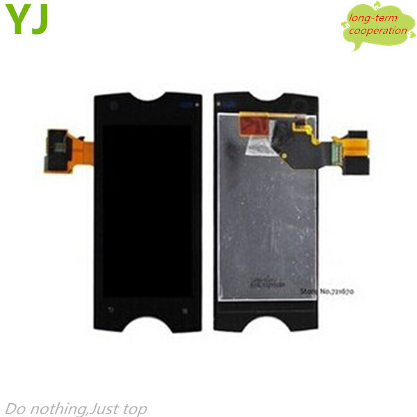 HK Free shipping Original For Sony Ericsson Xperia ray ST18 ST18i lcd display assembly with touch screen digitizer
