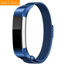 High Qulity Milanese Stainless Steel Wrist Band Metal Strap For Fitbit Alta Tracker WatchBands Bracelet Watch Replacement Parts