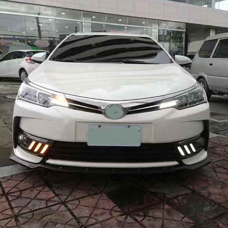Vlan Led Daylight For Toyota Corolla 2017 White Daytime Running Lights Drl Front Fog Lamp In Car Light Embly From Automobiles Motorcycles On