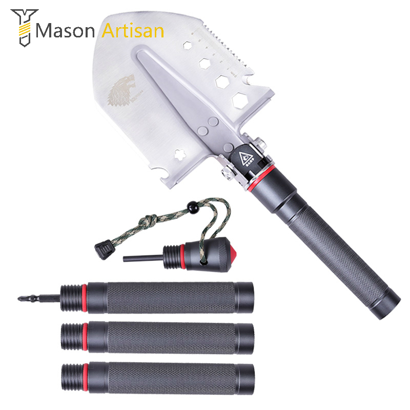 Multi Tool Folding Shovel Chinese Military Shovel Gardening Tools Outdoor Camping Multifunctional Tool for Garden Multitool егэ 2013 биология подготовка к экзамену