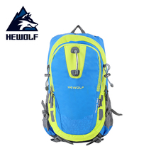 цена на 2018 30L Large Waterproof Climbing Hiking Backpack Rain Cover Bag Camping Mountaineering Backpack Sports Outdoor Bike Bag
