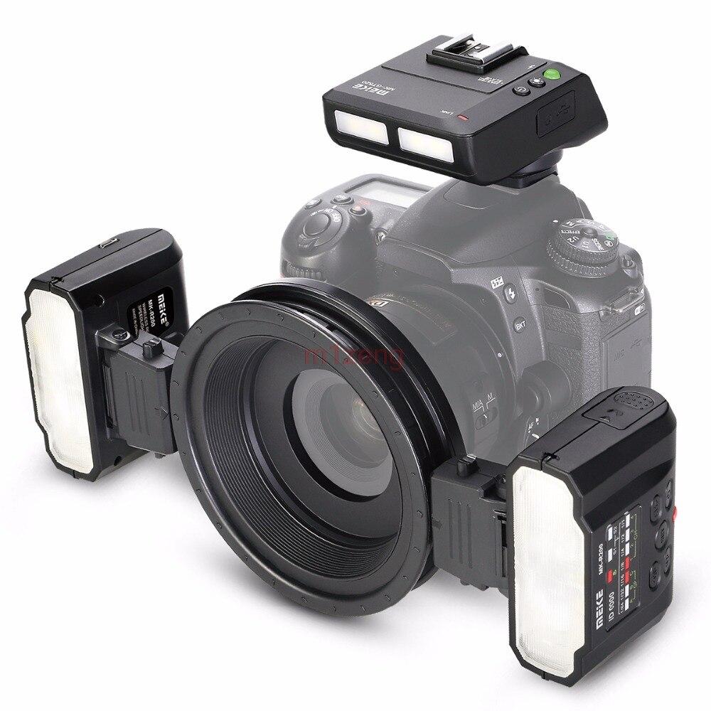 MT24 Macro Twin Lite Flash SPEEDLITE lumière pour nikon D3 d90 d200 D300 d600 d700 d800 d850 d3300 d5500 d7100 caméra