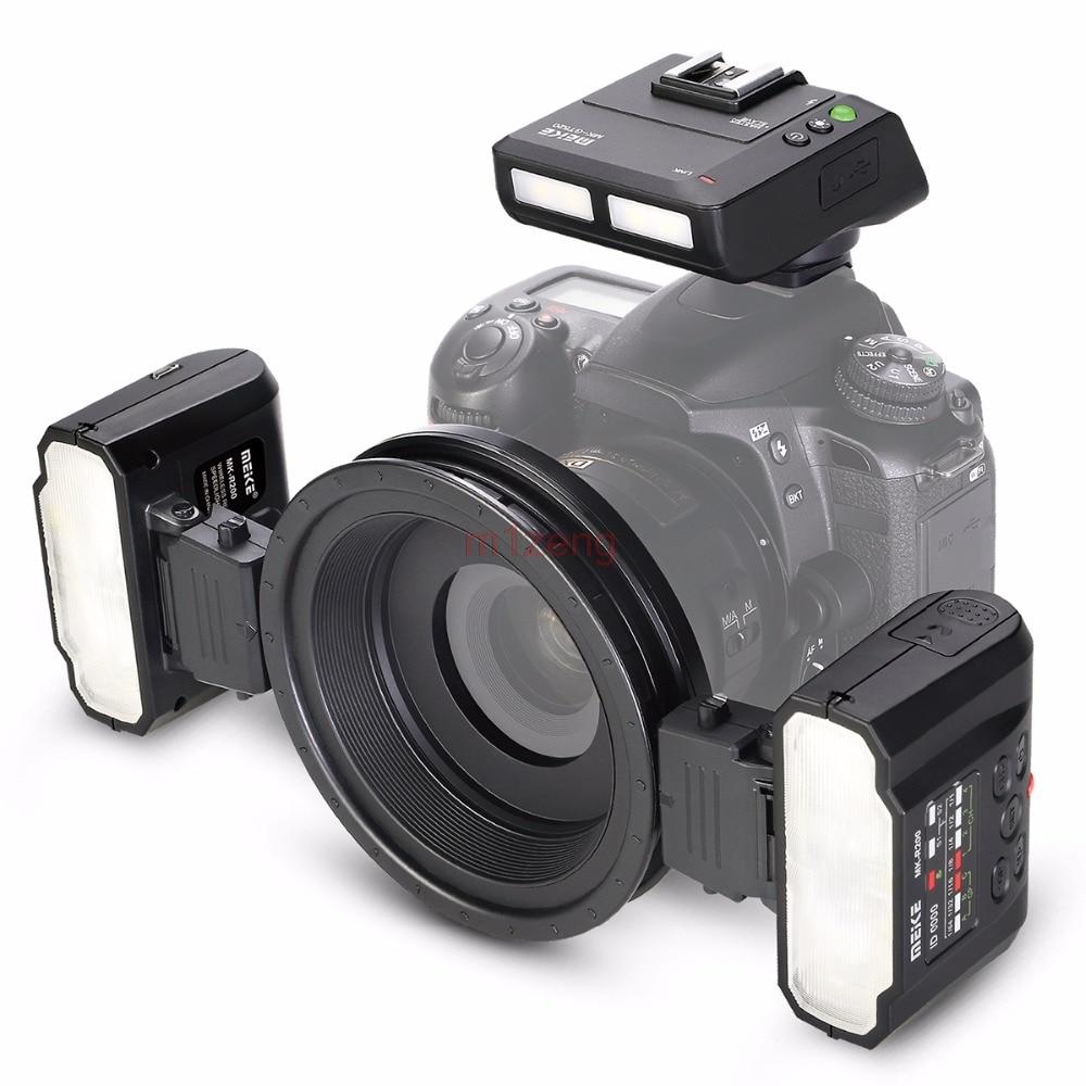 MT24 Makro Twin Lite Blitz SPEEDLITE licht für nikon D3 d90 d200 D300 d600 d700 d800 d850 d3300 d5500 d7100 kamera