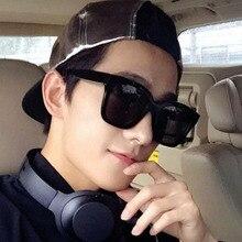 New Korean version of sunglasses dazzling reflective glasses  for driver square men