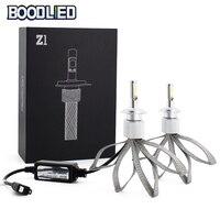 BOODLIED LED Headlights H4 H7 LED Bulb H11 H1 H3 9005 9006 COB LED Z1 Hi Lo Beam 6500K 12V For Car Auto Headlamp Fog Light Bulb
