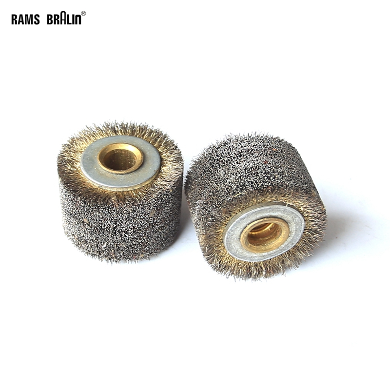 1 Piece 35*30*9mm Steel Wire Wheel Brush For Paint Removal Metal Derusting Wire Decoating