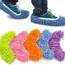 Lazy-Shoes-Cover Overshoes Polyester Mop Window-Cleaner Cleaning-Slipper Mophead Microfiber
