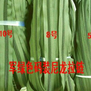 Großhandel Plastiktüten | 10 Mt/los Meisten Freies Verschiffen Lange Kontinuierliche Zipper Armee Grün Nylon Spule Reißverschlüsse Für Camping Zelt Nähen Zubehör Großhandel