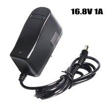 16,8 V 1000mA 1A 5,5*2,1 мм Питание адаптер EU/US/UK/AU разъем Зарядное устройство для литий Батарея 14,8 V